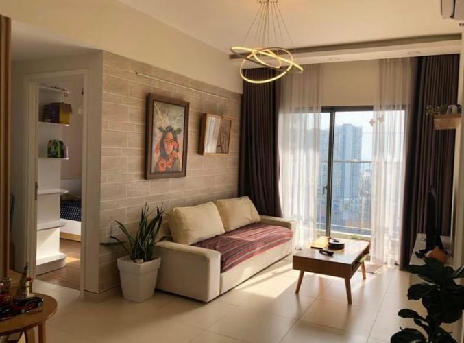 Căn hộ Masteri Thảo Điền tầng cao, nội thất đầy đủ hiện đại.
