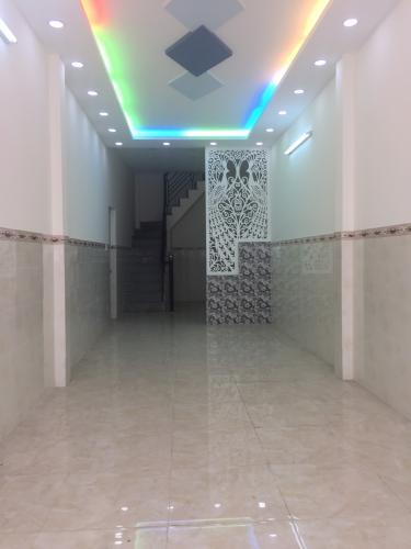 phòng khách Bán nhà phố đường hẻm 500 Đoàn Văn Bơ, diện tích đất 46.2m2
