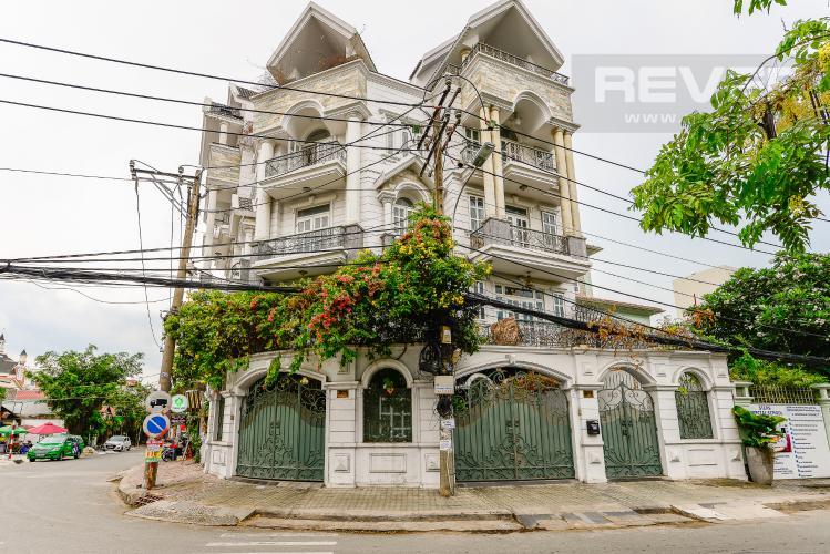 Mặt tiền Nhà phố 9 phòng ngủ đường Võ Trường Toản, Thảo Điền