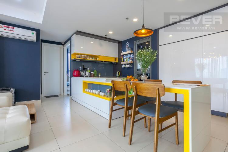 Khu Vực Bếp Căn hộ Masteri Thảo Điền 3 phòng ngủ tầng thấp T5 nội thất đầy đủ
