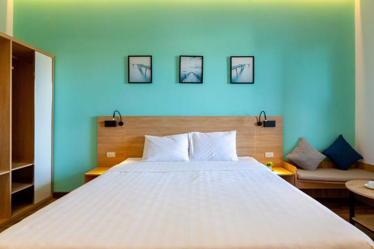 Phòng ngủ Căn Hộ Dịch Vụ Quận 10 Cho thuê Căn hộ Dịch vụ tại quận 10, diện tích 35m2 - 1 phòng ngủ, đầy đủ nội thất