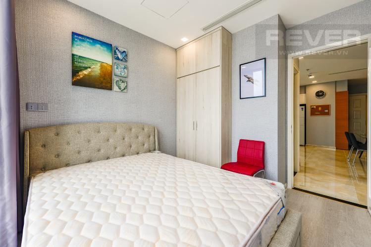 Phòng ngủ 3 Căn hộ Vinhomes Golden River tầng trung, tháp Aqua 3, 3PN, full nội thất
