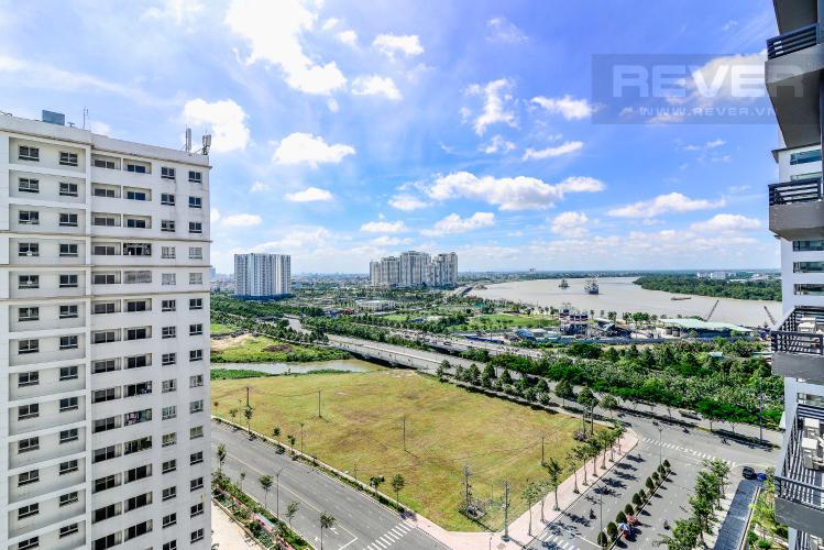 View Căn hộ New City Thủ Thiêm tầng trung tòa Babylon full nội thất