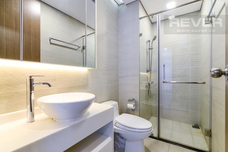 Phòng Tắm 1 Cho thuê căn hộ Vinhomes Central Park 2PN, đầy đủ nội thất, view sông, hướng Đông Nam đón gió