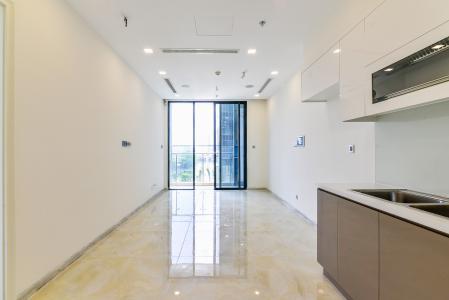 Officetel Vinhomes Golden River 1 phòng ngủ tầng thấp A2 view sông