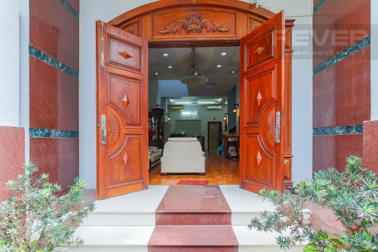 Cửa chính Biệt thự 5 phòng ngủ Khu C Khu villa Bình An Riverside Quận 2