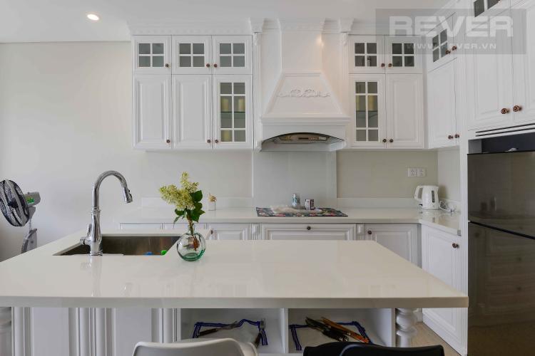 Bếp Cho thuê căn hộ Diamond Island - Đảo Kim Cương 1PN, tháp Canary, đầy đủ nội thất, view sông yên tĩnh