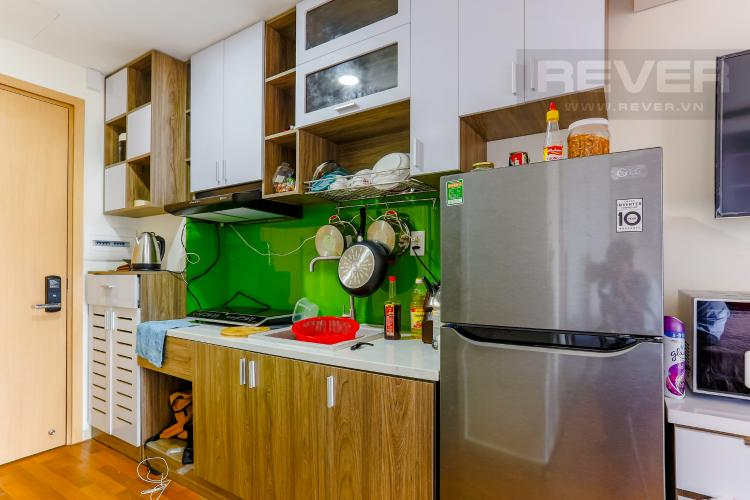 Phòng Bếp Căn hộ M-One Nam Sài Gòn 1 phòng ngủ tầng thấp T2 nội thất đơn giản