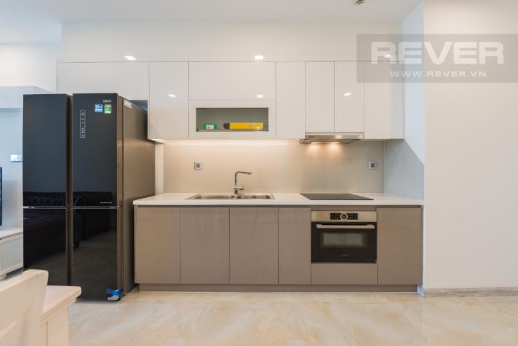 Bếp Căn hộ Vinhomes Golden River tầng trung, 1PN đầy đủ nội thất, tiện ích đa dạng