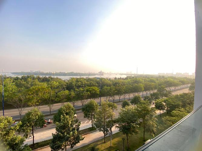 View căn hộ New City Thủ Thiêm, Quận 2 Căn hộ tầng trung New City Thủ Thiêm nội thất đầy đủ, view sông.
