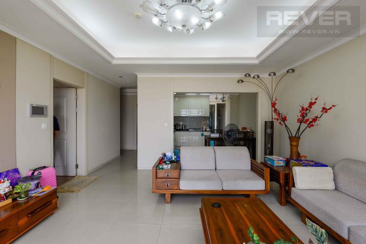 Phòng Khách Cho thuê căn hộ Imperia An Phú 3PN, tầng thấp, diện tích 115m2, đầy đủ nội thất, view Landmark 81