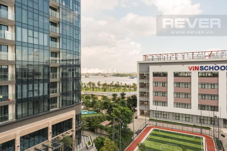 View Cho thuê căn hộ Vinhomes Golden River tầng thấp, 3PN, đầy đủ nội thất