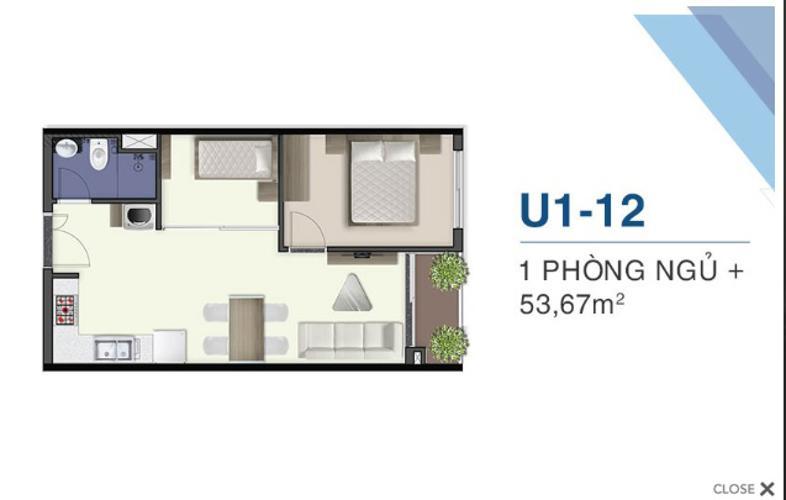 Căn hộ tầng 34 Q7 Saigon Riverside nội thất cơ bản, hướng Tây.