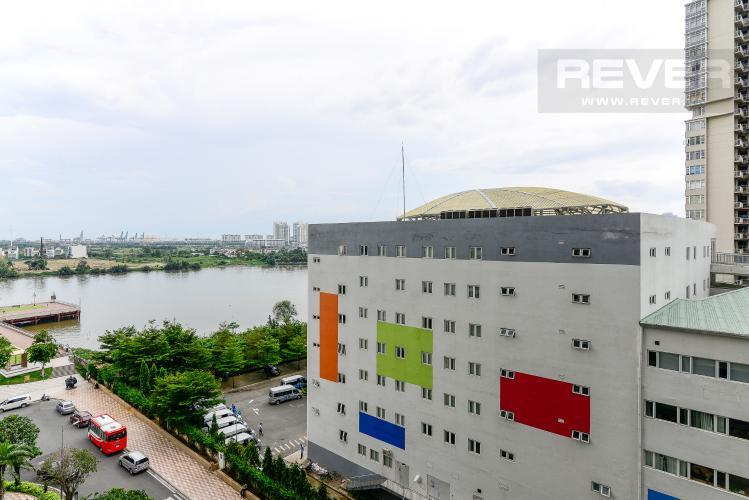 View Cho thuê căn hộ Vinhomes Central Park 1PN, đầy đủ nội thất, view mé sông Sài Gòn