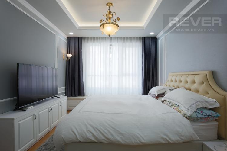 Phòng Ngủ 1 Căn hộ The Gold View 3 phòng ngủ tầng cao A3 nội thất đầy đủ
