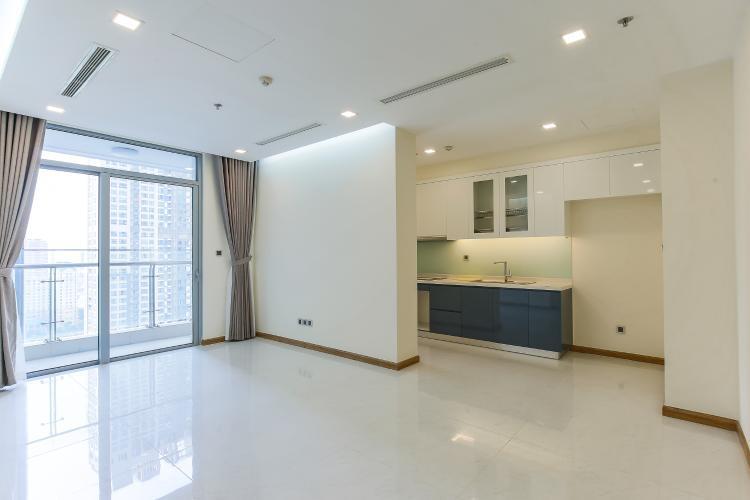 Căn hộ Vinhomes Central Park 2 phòng ngủ tầng cao P3 nhà trống
