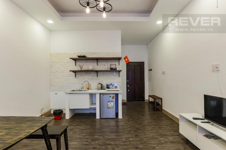 Phòng Bếp Căn hộ dịch vụ 48m2 Đường Mai Thị Lựu Quận 1