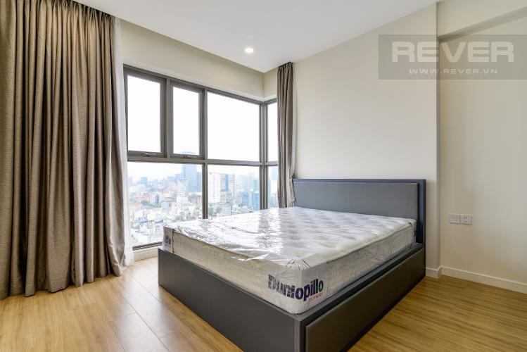 Phòng Ngủ 3 Cho thuê căn hộ Masteri Millennium tầng cao, 3PN, nội thất đầy đủ