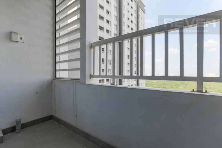 Balcony Cho thuê căn hộ Lexington Residence 2PN tầng cao, nội thất cơ bản, view đại lộ Mai Chí Thọ