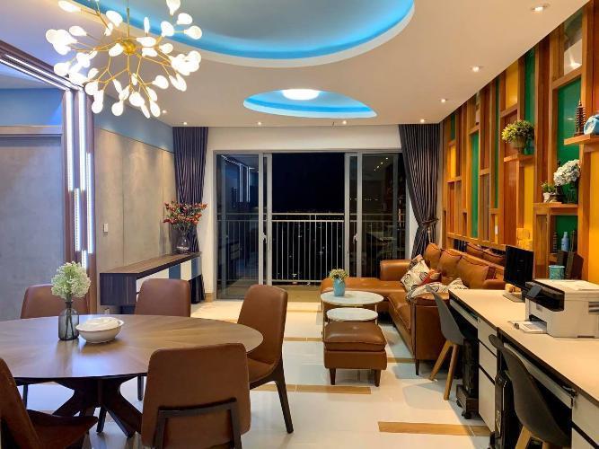 Phòng ăn căn hộ Palm Heights Cho thuê căn hộ Palm Heights 3 phòng ngủ, diện tích sử dụng 105m2, đầy đủ nội thất cao cấp