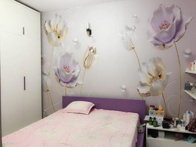 Phòng ngủ căn hộ Hồng Lĩnh Plaza Căn hộ Hồng Lĩnh Plaza tầng thấp view thành phố và cây xanh.