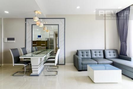 Cho thuê căn hộ Masteri Millennium 2PN, block A, diện tích 65m2, đầy đủ nội thất, view hồ bơi mát mẻ