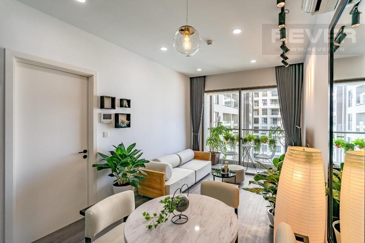 4fd89dca3086d6d88f97 Bán căn hộ Masteri Millennium 2 phòng ngủ, block B, đầy đủ nội thất, view Bitexco