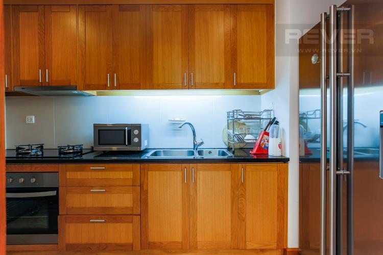 Phòng Bếp Căn hộ Saigon Pavillon 1 phòng ngủ tầng thấp nội thất đầy đủ