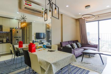 Căn hộ M-One Nam Sài Gòn 2 phòng ngủ tầng cao T2 hướng Tây Nam