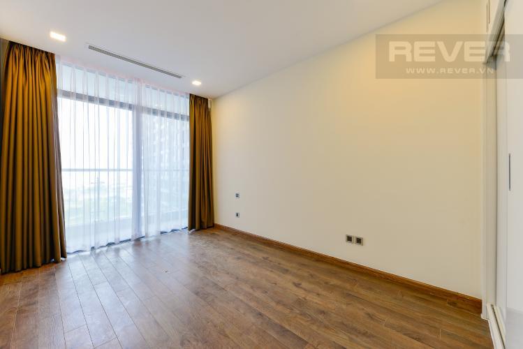 phòng ngủ 2 Căn hộ Vinhomes Central Park tầng cao Park 6 nội thất cơ bản, view sông