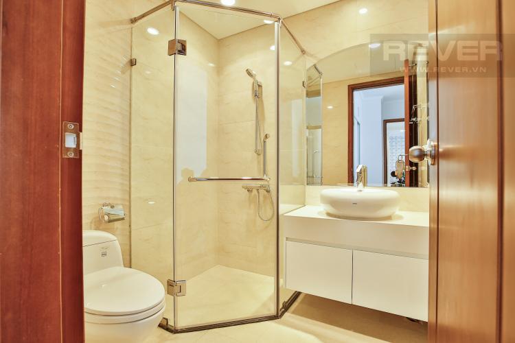 Toilet 2 Căn hộ Vinhomes Central Park trung tầng Central 3 thiết kế đẹp