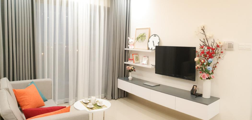 Phòng khách căn hộ THE SUN AVENUE Bán căn hộ The Sun Avenue thuộc tầng thấp, 2 phòng ngủ, diện tích 67.3m2, đầy đủ nội thất