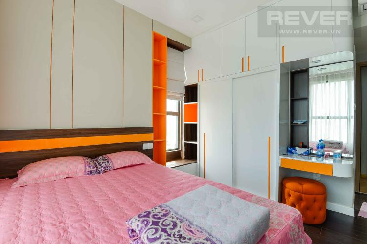Phòng Ngủ 1 Cho thuê căn hộ The Sun Avenue 3PN, đầy đủ nội thất, view Landmark 81