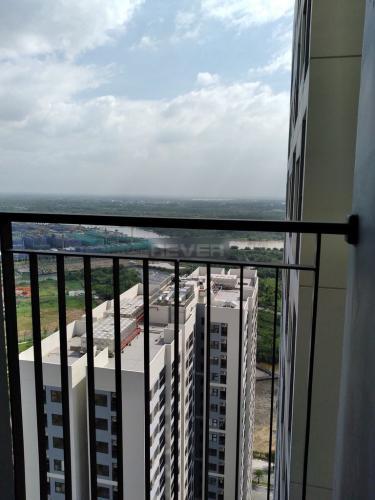 View căn hộ Vinhomes Grand Park Căn hộ tầng cao Vinhomes Grand Park nội thất cơ bản, view thành phố.