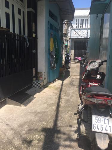 hẻm 2.5 m Bán nhà phố đường hẻm 500 Đoàn Văn Bơ, diện tích đất 46.2m2