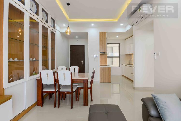 Phòng Khách Cho thuê căn góc The Sun Avenue 3PN tầng trung, đầy đủ nội thất, view cây xanh mát mẻ