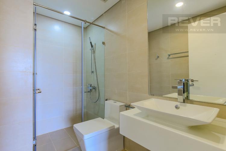 Phòng Tắm 1 Cho thuê căn hộ Masteri Millennium tầng trung 2PN đầy đủ nội thất