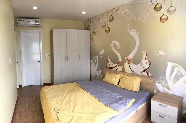 phòng ngủ căn hộ diamond riverside Căn hộ Diamond Riverside  tầng cao, ban công hướng Bắc.