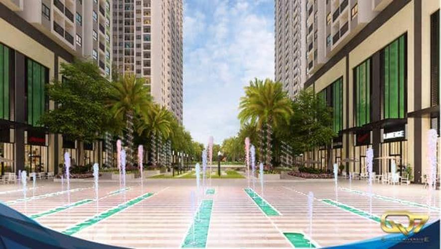 Nội khu - Đài phun nước Q7 Sài Gòn Riverside Bán căn hộ tầng cao view đường phố nội khu Q7 Saigon Riverside.