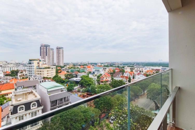 View từ căn hộ D'EDGE Cho thuê căn hộ D'Edge view thành phố thoáng mát, đầy đủ nội thất.