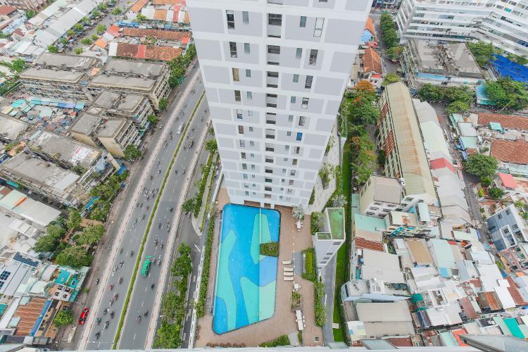 View Căn hộ RiverGate Residence 3 phòng ngủ tầng cao tháp A hướng Tây Bắc