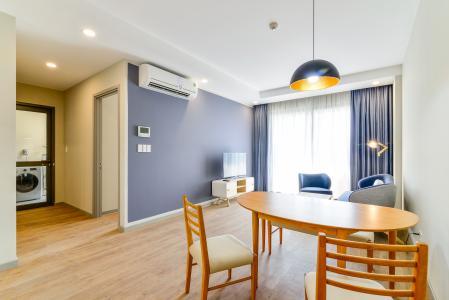 Căn hộ The Gold View 2 phòng ngủ tầng thấp tháp B đầy đủ nội thất