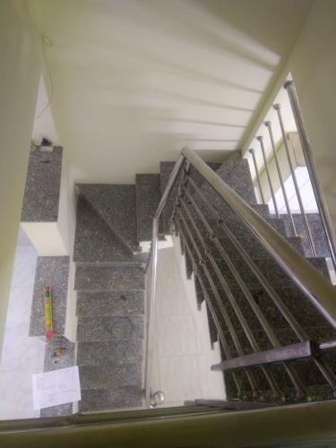 Bên trong căn nhà phố Nhà Bè Nhà hẻm 4m huyện Nhà Bè hướng Nam, diện tích sử dụng 151.6m2.