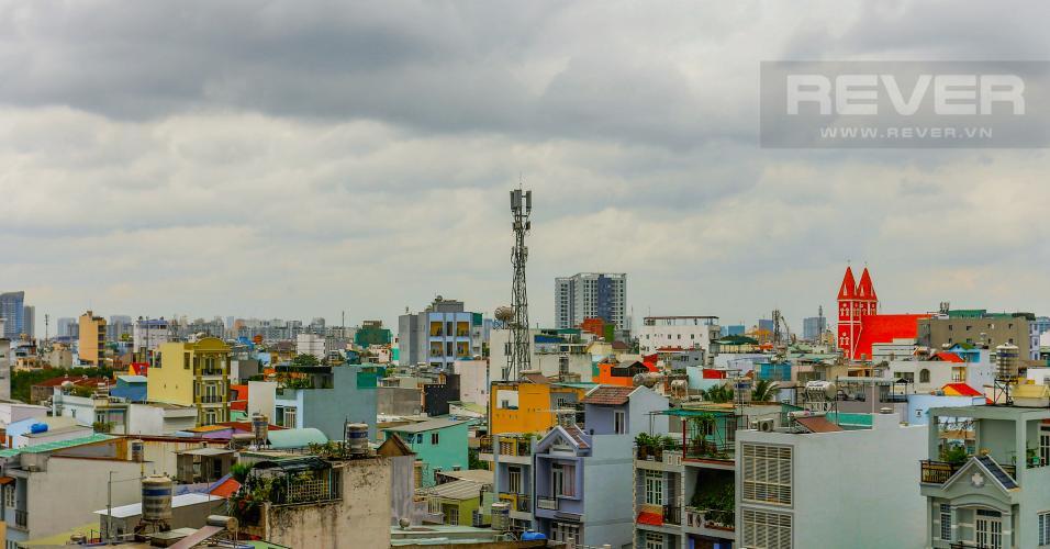 View Căn hộ M-One Nam Sài Gòn tầng thấp tòa T2, 1 phòng ngủ, view sông