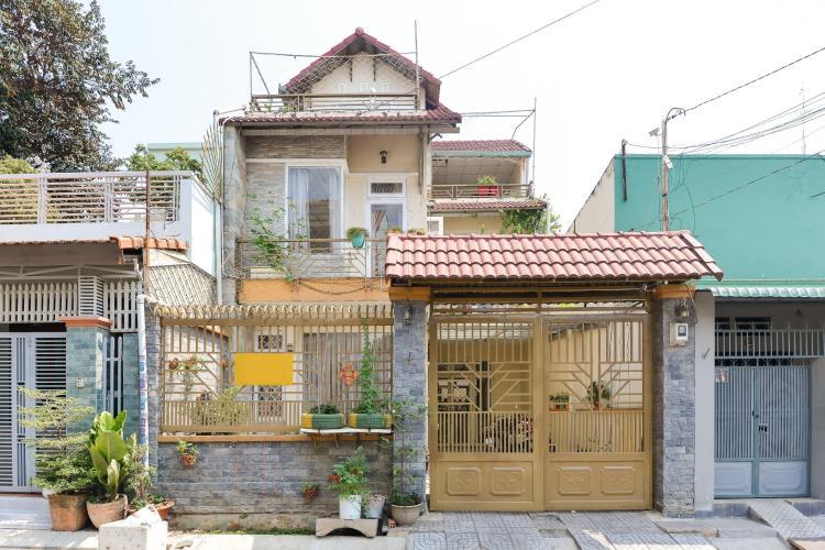 Mặt trước nhà phố Quận 9 Cho thuê nhà nguyên căn đường Trương Văn Thành, phường Hiệp Phú, Quận 9, đầy đủ nội thất, cách Xa lộ Hà Nội 600m
