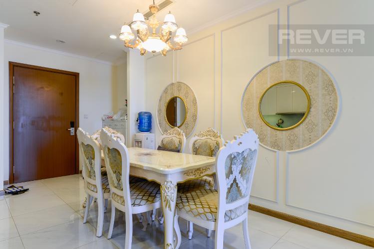 Phòng Ăn Cho thuê căn hộ Vinhomes Central Park 83.8m2, view sông thoáng mát, nội thất hạng sang