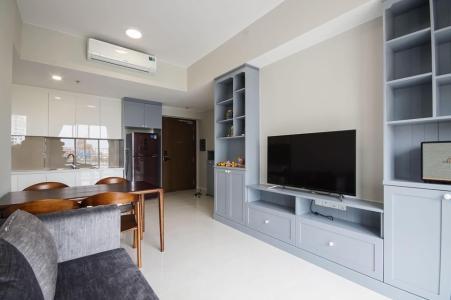 Cho thuê căn hộ Masteri An Phú 2PN, tháp A, đầy đủ nội thất, hướng Tây Bắc, view Xa lộ Hà Nội
