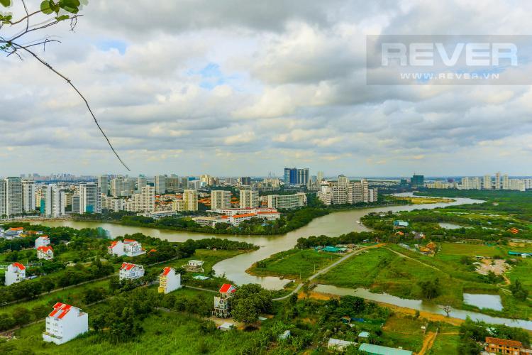 View Căn hộ Phú Hoàng Anh tầng cao, tháp B, full nội thất