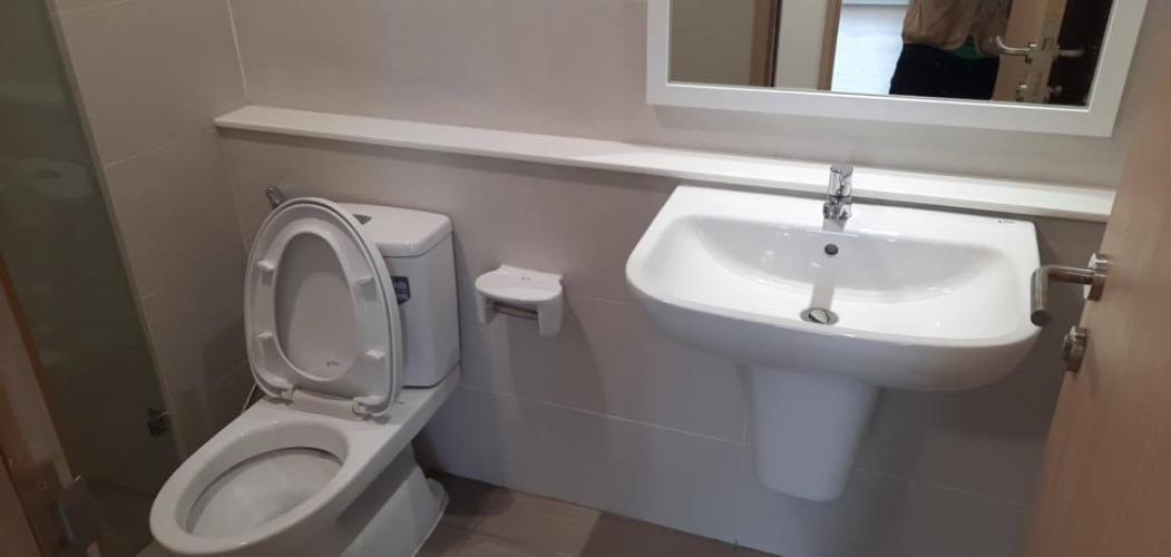 Toilet Căn hộ SAFIRA KHANG ĐIỀN Bán căn hộ Safira Khang Điền tầng trung, diện tích 66m2 gồm 2 phòng ngủ, nội thất cơ bản