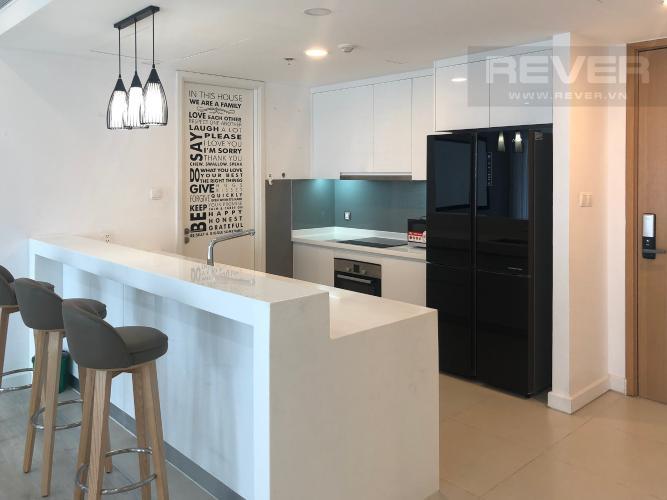 Bếp Bán căn hộ Gateway Thảo Điền 4PN, tầng trung, đầy đủ nội thất, view Xa lộ Hà Nội và Landmark 81